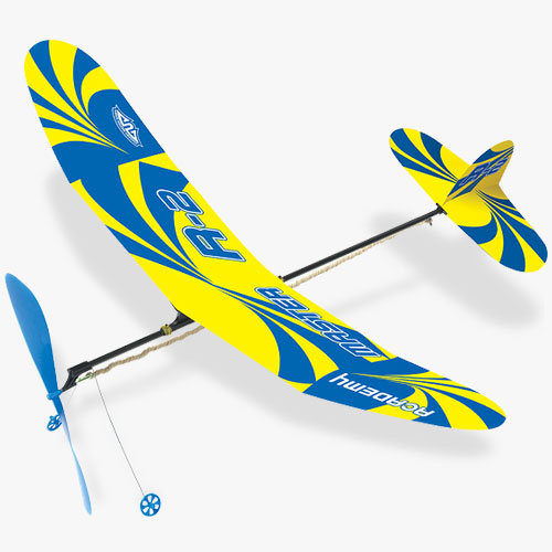 18502 Rubber Powered Ultra Glider R-2
