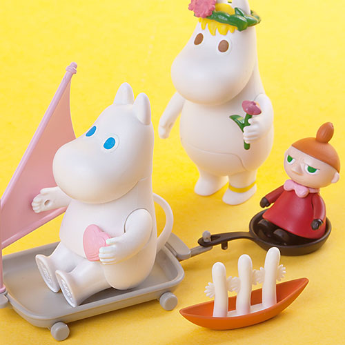 15758 [Figurine ​Collection]​ Moomin, ​Snorkmaiden​, ​Little My(Released Jul,2018)